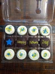 dozen cupcake father's day sweet flour bake shop
