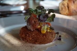 Deerhurst Resort Antler Steakhouse Crabcake
