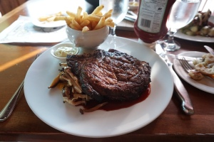 Deerhurst Resort Antler Steakhouse Ribeye