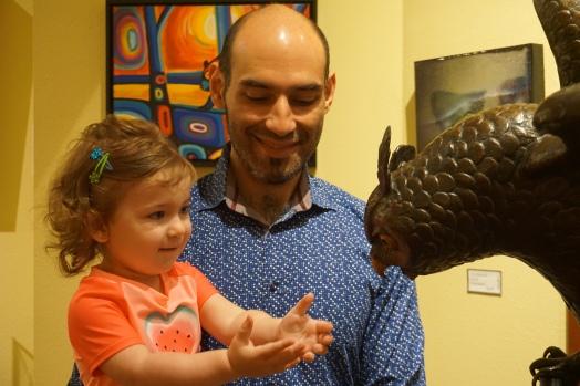 Deerhurst Resort owl statue