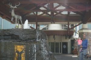 Deerhurst Resort deer fountain