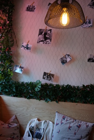 hipster, modern cafe
