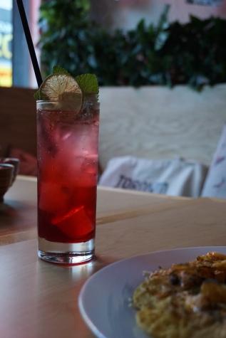 tea infused cocktail
