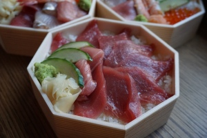 Chirashi from Shari Restaurant