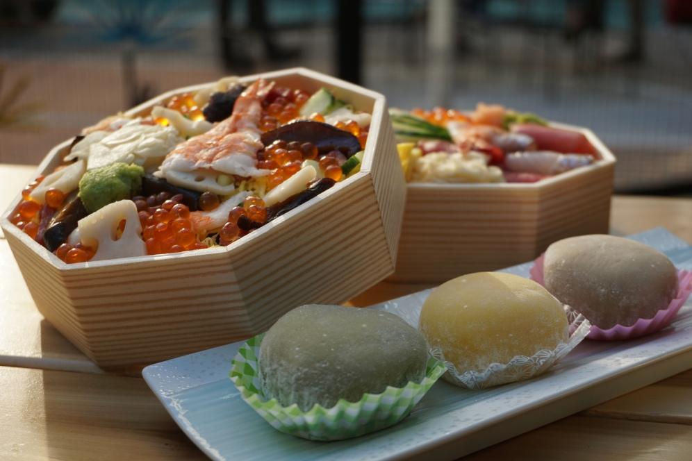 Chirashi from Shari Restaurant