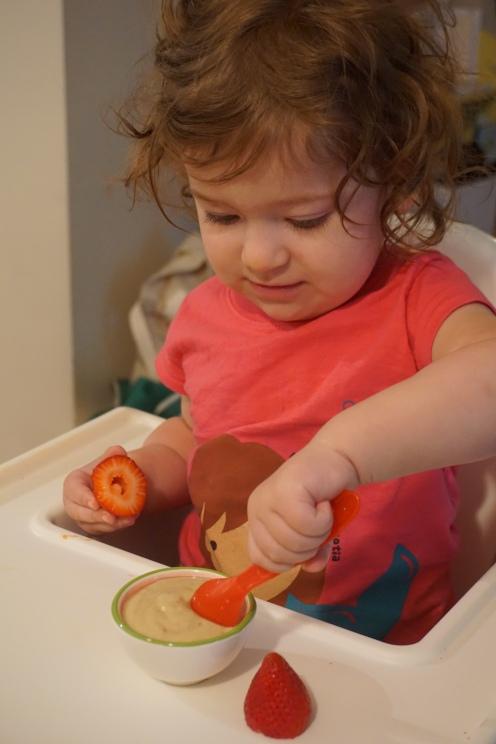 Avocado Strawberry Banana Smoothie Toddler