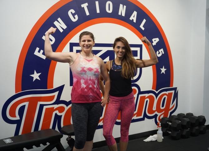 F45 Training Sweaty Selfie