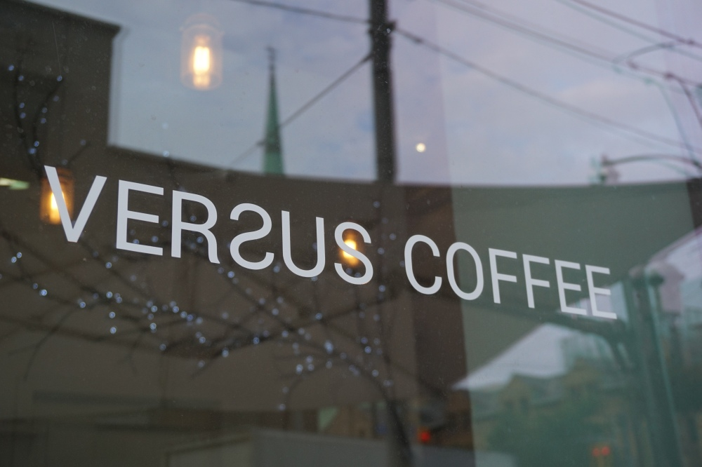 Versus Coffee Toronto Rainbow Latte Art
