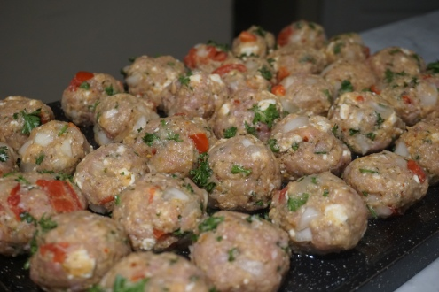 Mediterranean Turkey Meatball Recipe