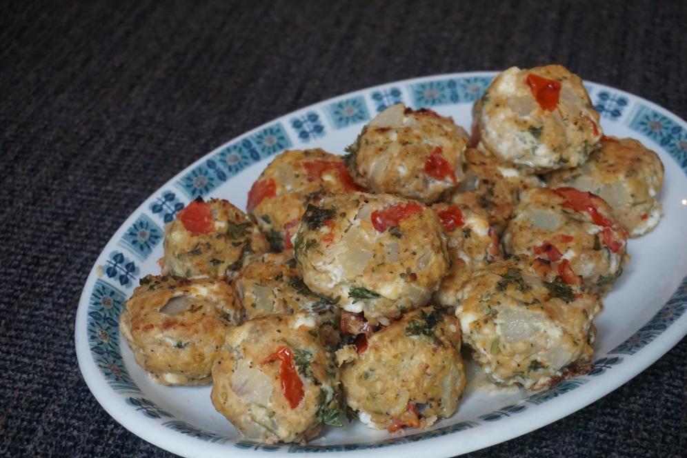 Mediterranean Turkey Meatball Recipe