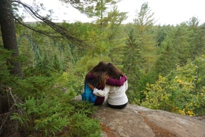 Algonquin Park Fall 2018 Two Rivers Trail Cliff Fall Views