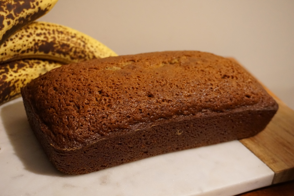 banana bread loaf spiced toddler approved