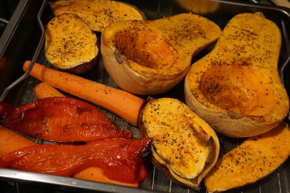 squash carrot apple sweet potato soup