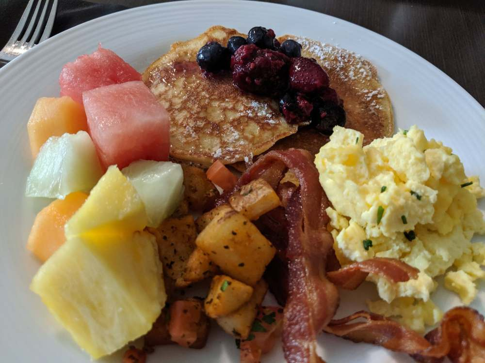 Breakfast buffet, hockley valley resort.
