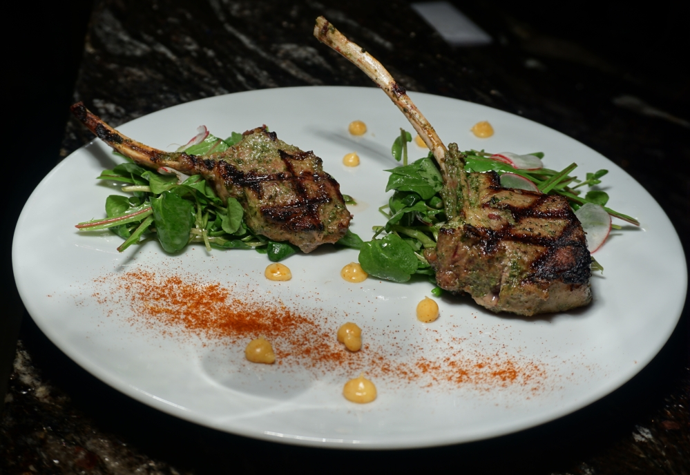 Cabin Restaurant, Hockley Valley Resort, Lamb Chops.